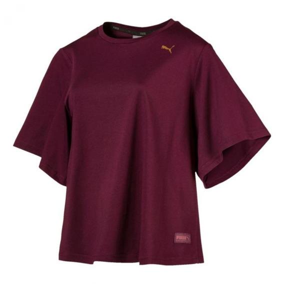 Camiseta Feminina Puma Fusion Fashion Original