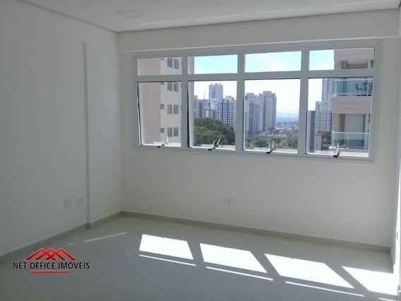 Sala Para Alugar, 32 M² Por R$ 1.100/mês - Jardim Aquarius - São José Dos Campos/sp - Sa0130