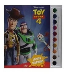 Livro Toy Story 4 Aquarela
