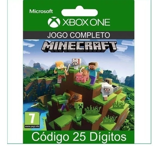 Minecraft Código Digital 25 Dígitos - Xbox One