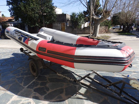 Semirrigido Sea Runner 460 Impecable Nautica Milione