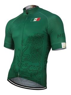 Jersey Mexico Verde Bici Ruta, Mtb, Ciclismo Deporte