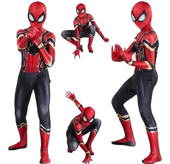 Disfraz Hombre Araña Spiderman Vengadores Avengers Halloween