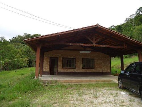 Chácara Com 2 Dormitórios À Venda, 31000 M² Por R$ 980.000,00 - Paraibuna - Paraibuna/sp - Ch0041