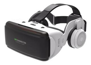 Gafas De Realidad Virtual Vr Con Auriculares Shinecon Box