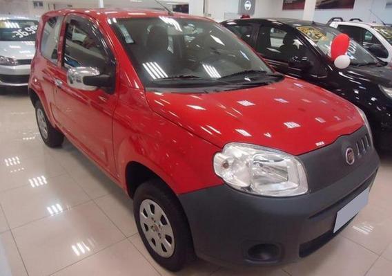 Fiat Uno 1.0 Evo Vivace 8v Flex 4p Manual 2012 Cor Vermelha
