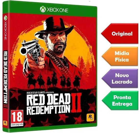 Red Dead Redemption 2 Xbox One Mídia Física Novo Lacrado