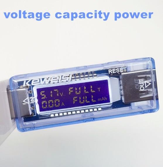 Voltimetro Amperimetro Teste Usb