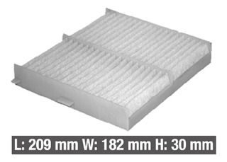 Aceite filtro de aire filtro de polen carbón activado-suzuki sx4-1.6 82//88 kW-Hungría!