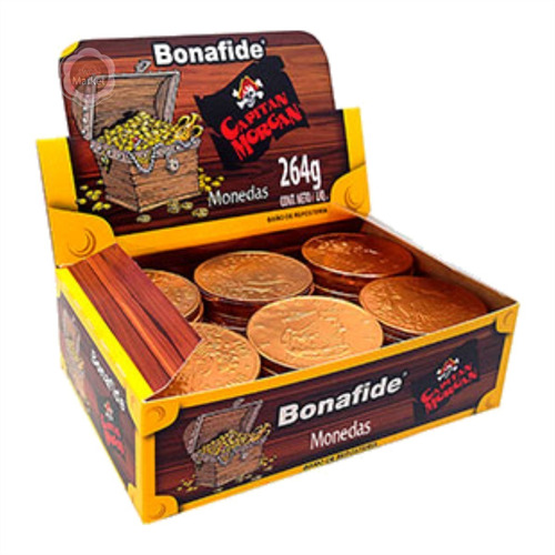 Monedas De Chocolate Dolar Bonafide X 60u - Sweet Market
