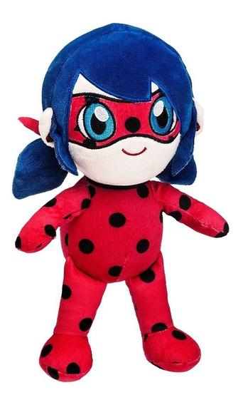 Miraculous Pelúcia Ladybug 26 Cm Original Fun Divirta-se
