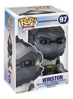 Funko Pop Overwatch Super Sized Winston #97 Magic4ever