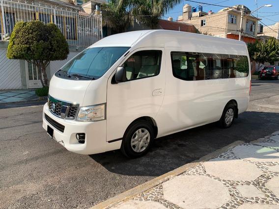 Nissan Urvan,2015,amplia,15 Pasajeros,a/a,factura Original.