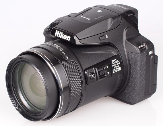 Nikon P900 16mp 83x Zoom Full Hd Wifi Nfc Gps Lcd Rebatible