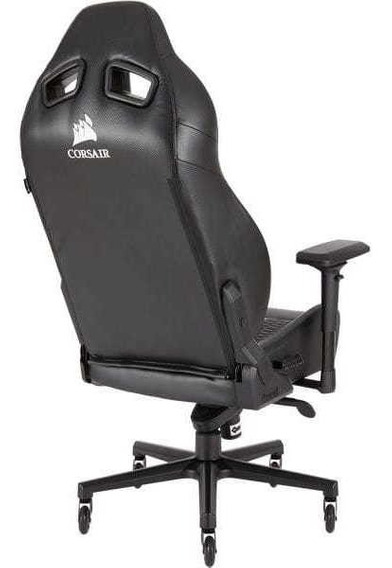 Cadeira Gamer Corsair T2 Road Warrior Preta/preta Nf-e