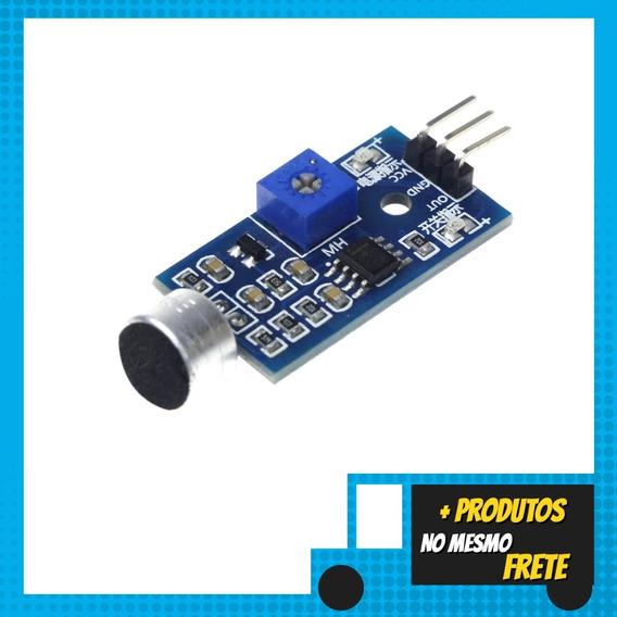Módulo Sensor De Som Dector Sonoro Para Arduino