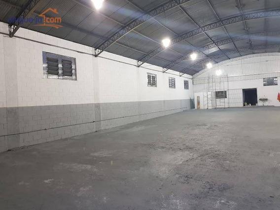 Galpão Com Habite-se Industrial Para Locação, Chácaras Reunidas, São José Dos Campos. - Ga0004