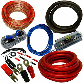 Bass Rockers Rs-0: 0 Awg Kit Completo De