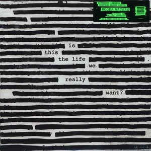 Lp Roger Waters Is This Life We Really Want? 2xlps Verde