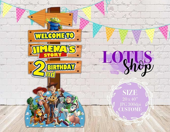 Decoracion Fiesta Infantil Toy Story