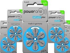 30 Baterias Power One Implantplus Implante Coclear