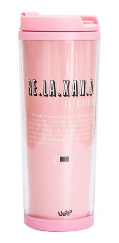 Imagem 1 de 2 de Copo Termico Color - Relax Rosa
