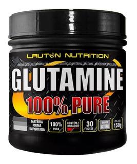 Glutamina Lauton Nutrition 100% Pura 150g - Promoção