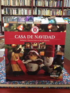 Casa De Navidad Muñecos Decoración Adornos