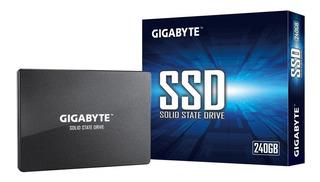 Disco Sólido Ssd Gigabyte 240gb Pc Notebook 2.5 Box Cuotas