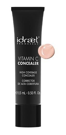 Corrector Alta Cobertura Idraet Vitamina C Concealer Tonos