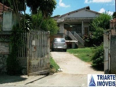 Ref.: 2499 - Terreno C/ Casa Em Carapicuiba Para Venda - V2499
