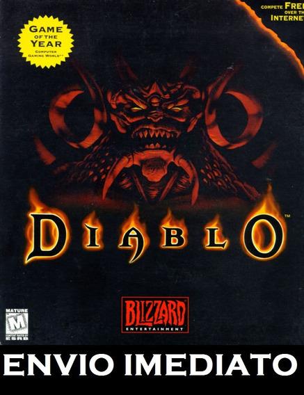 Diablo 1 Em Português Pc - Mídia Digital + Brinde