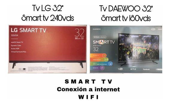 Tv Lg 32 Smart Tv Led Hd 240v Y Tv Lg 32 Solo Led 180v Ofert