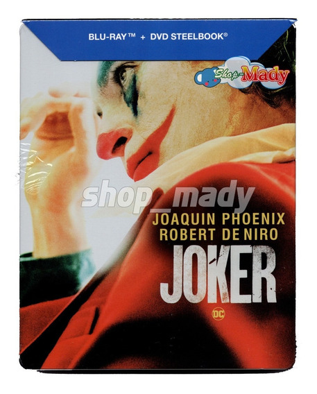 Joker - El Guason Blu-ray + Dvd Steelbook Joaquin Phoenix