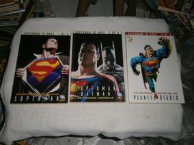 Superman 70 Anos - 3 Gibis Especiais Capa Dura Papel Cartao