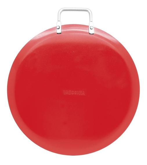 Comal 26 Cm Rojo Vasconia