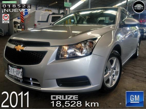2011 Cruze Automático Con 18,528 Km Originales Con Servicios