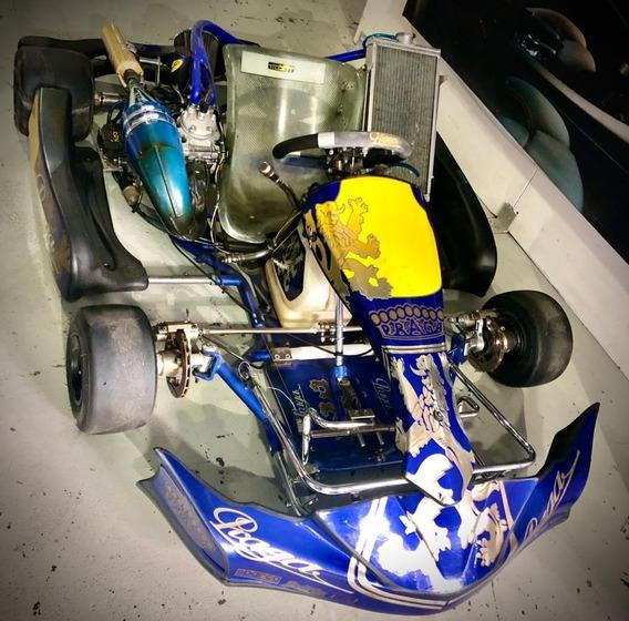 Go Kart Praga Motor Honda125 Cc