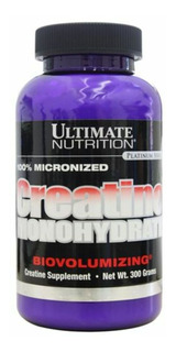 100% Creatine Monohydrate - 300g - Ultimate Nutrition