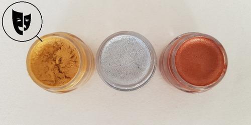 Base Cremosa Maquillaje Titi Mini Pote 5gr - Metal Oro