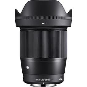 Lente Sigma 16mm F/1.4 Dc Dn P/ Sony E-mount Aps-c