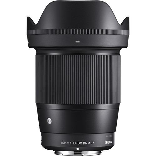 Lente Sigma 16mm F/1.4 Dc Dn P/ Sony E-mount Aps-c, Envio P/ Norte E Nordeste, Somente Pela Cia Aérea