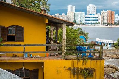 Casa Em Parque Prainha, São Vicente/sp De 421m² 4 Quartos À Venda Por R$ 1.230.000,00 - Ca85184