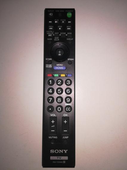 Control Remoto Sony Bravia Para Tv. Modelo: Rm-yd066