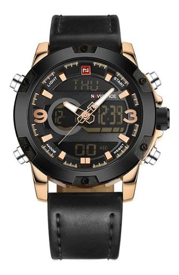 Promoção Relógio Masculino Naviforce Original Funcion Barato