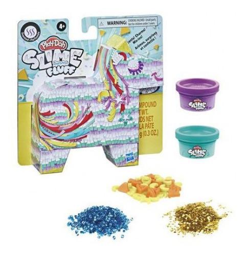 Imagem 1 de 1 de Playdoh Slime Fluff Unicornio