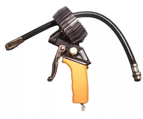 Pistola Inflar Medir Presión Neumáticos Manómetro Rueda