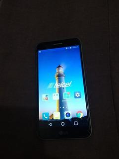 Celular LG K10 Gris Plateado De Uso
