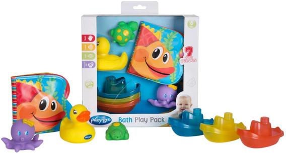 Juego De Baño Playgro Set De Agua Bath Play Pack
