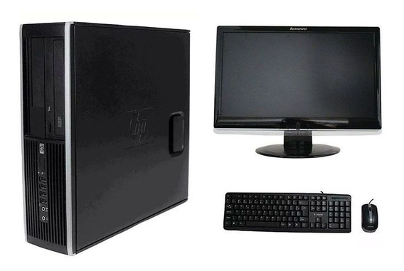 Computador Hp Elite 8200 I3 8gb 320hd Monitor 18,5 Polegadas